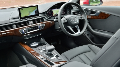 Audi A4 2016 30 TFSI Technology Interior