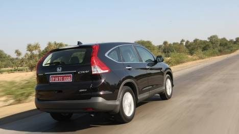 Honda CR-V 2013 CR-V 2L AT Comparo