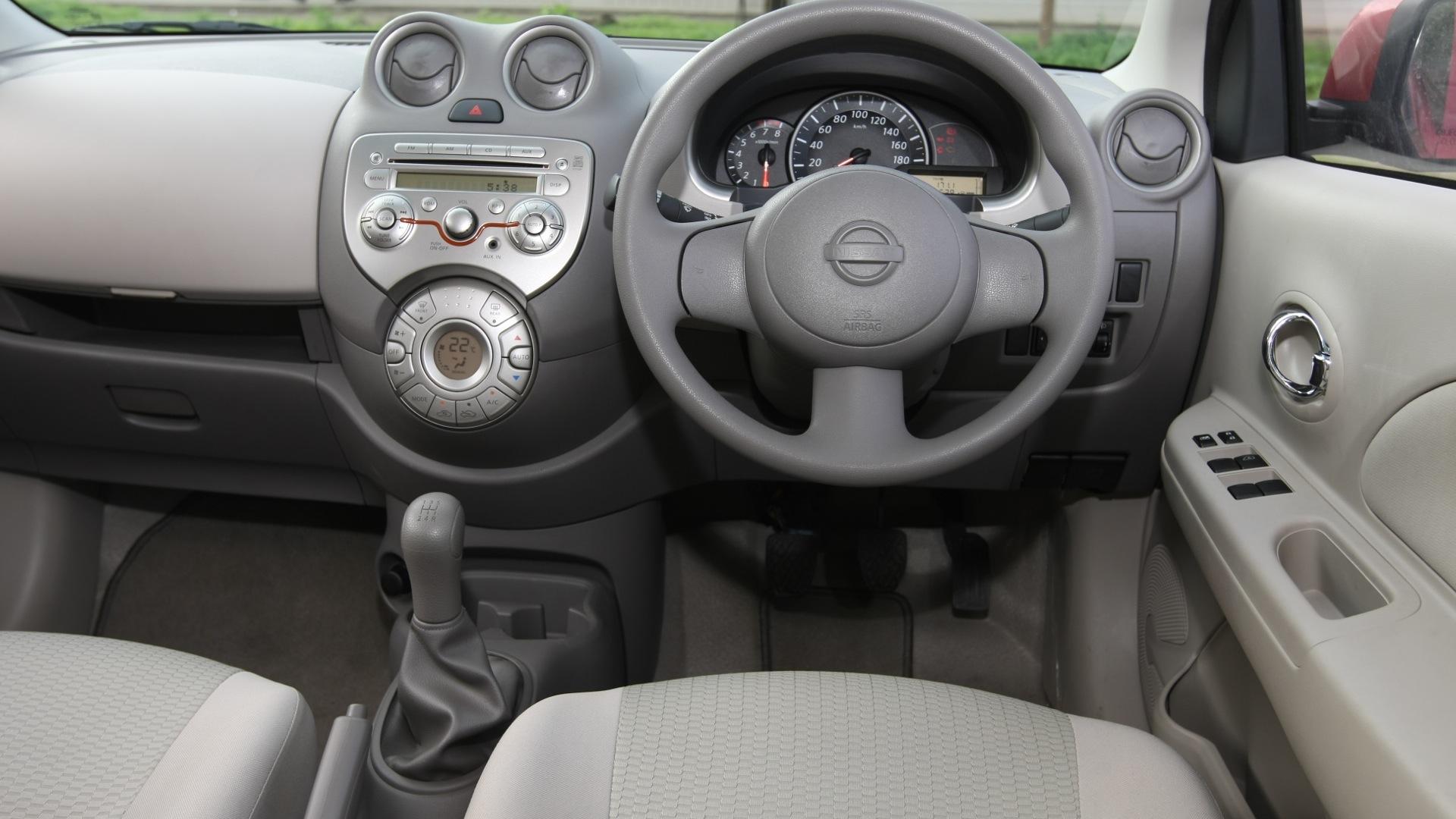 Nissan-Micra-2013-XE-Interior Car Photos - Overdrive