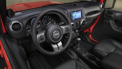 Jeep Wrangler 2017 Unlimited Diesel Interior
