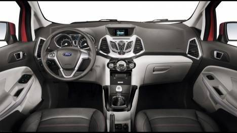 Ford EcoSport 2017 1.5 Diesel Platinum Edition Interior