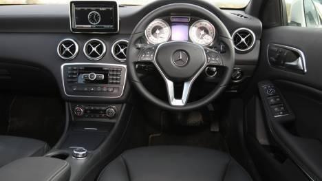 Mercedes-Benz A-Class 2016 A 200 CDI Sport Interior
