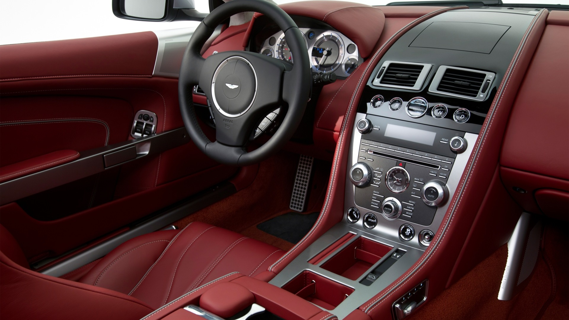 Aston Martin DB9 Interior Car s Overdrive
