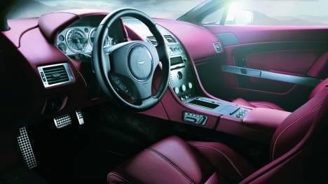 Aston Martin Vantage V8 2013 Roadster Interior