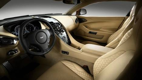 Aston Martin Vanquish 2013 STD Interior