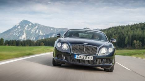 Bentley Continental 2015 GTC V8 S Exterior