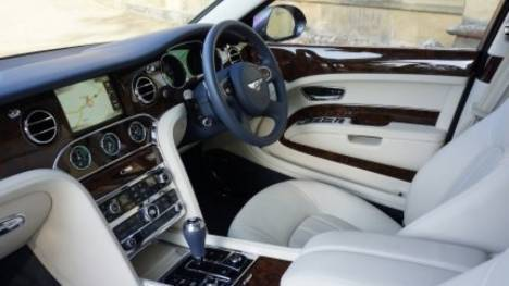 Bentley Mulsanne 2013 Speed Interior