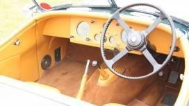 Nostalgia  Jaguar XK140 Interior