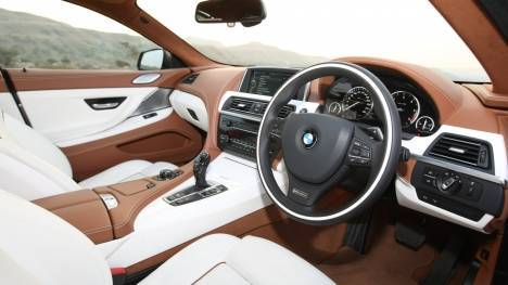 BMW 6 Series 2015 640d Design Pure Experience Interior
