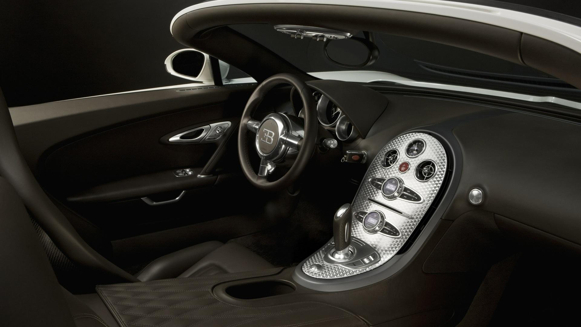 Bugatti Veyron Interior Interior Car Photos - Overdrive