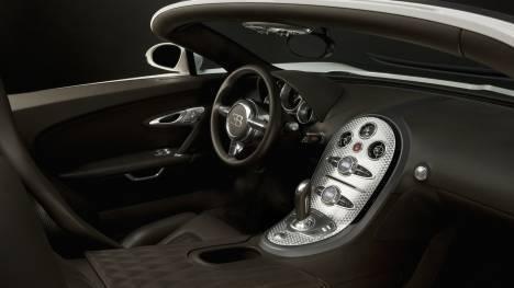Bugatti Veyron 2013 Grand Sport Interior