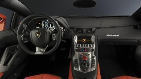 Lamborghini Aventador 2017 S Interior