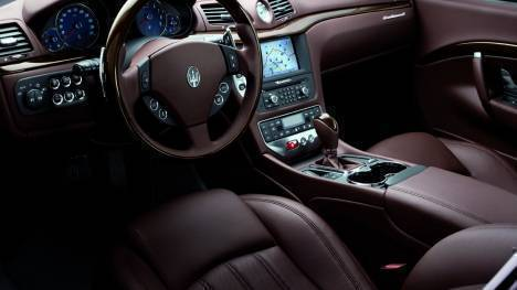 Maserati GranTurismo 2015 STD Interior