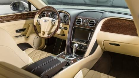 Bentley Flying Spur 2014 V8 Interior