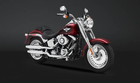 Harley-Davidson Fat Boy 2013 STD Comparo