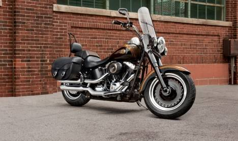 Harley-Davidson Fat Boy 2013 STD Comparo