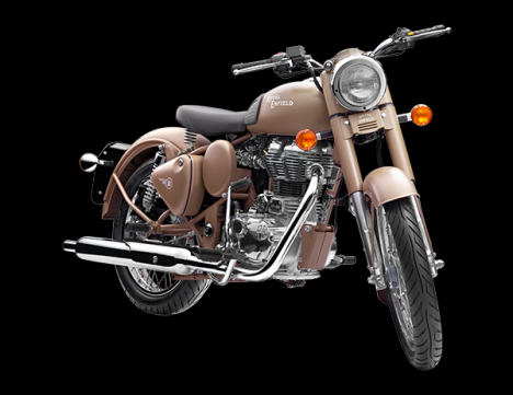 Royal Enfield Classic 500 2013 Battle Green Comparo