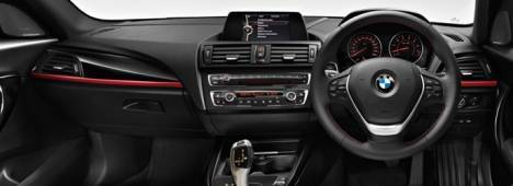 BMW 1 Series 2015 118d Sport Line Interior