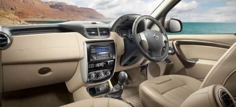 Nissan Terrano 2017 XV Premium AT dCi 110ps Interior