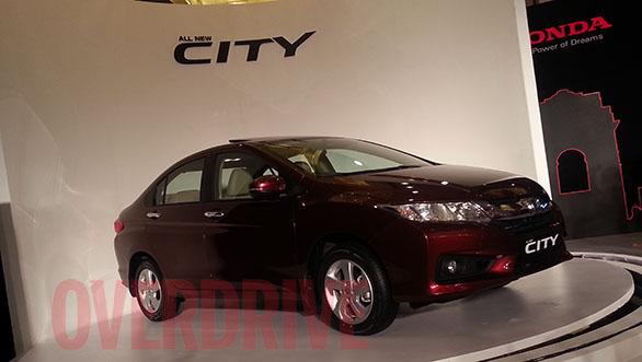 Honda-City 2014 Exterior