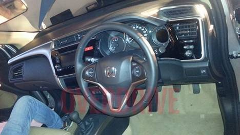 Honda City 2017 Diesel ZX MT Interior