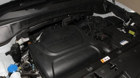 Hyundai Santa Fe 2014 4WD A/T Interior