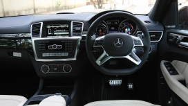 Mercedesbenz ML-63 2014 AMG Interior