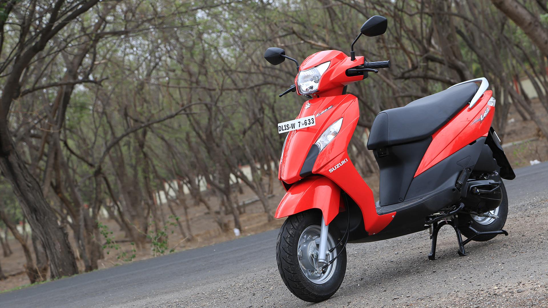 Suzuki Lets 2014 STD Compare