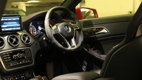 Mercedes-Benz CLA 2017 200 D Sport Interior