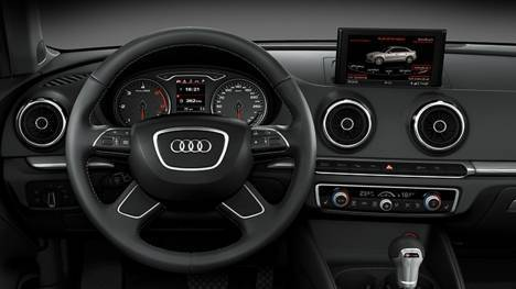 Audi A3 2017 35 TDI Technology Interior