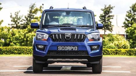 Mahindra Scorpio 2016 S2 1.9l Exterior