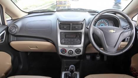 Chevrolet Sail 2014 Diesel LT ABS Interior