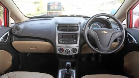 Chevrolet Sail U-VA 2014 LS ABS Interior