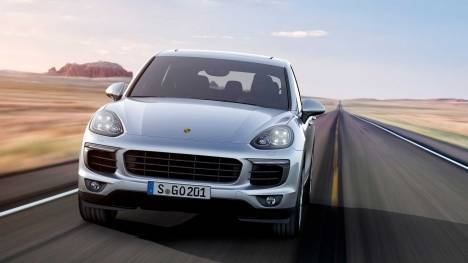 Porsche Cayenne 2015 GTS Exterior