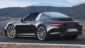 Porsche-911-targa-2015-4S Exterior