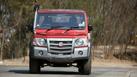 Force Gurkha 2017 Xplorer 5-door Comparo