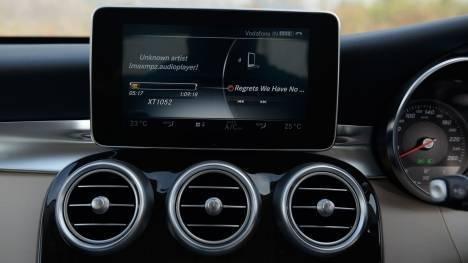 Mercedes-Benz C-Class 2016 C 300 Cabriolet Interior