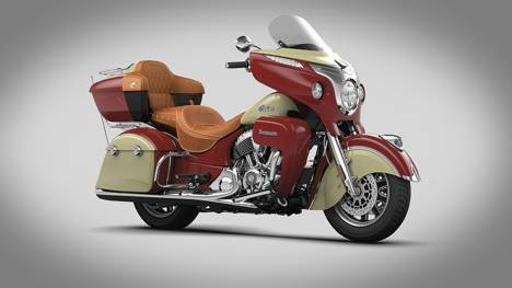 Indian Roadmaster 2015 Thunder black Exterior