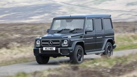 Mercedes-Benz G-Class 2017 G-63 AMG Edition 463 Comparo