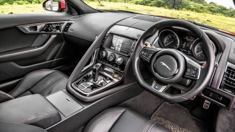 Jaguar F-Type 2014 R 550 PS Interior