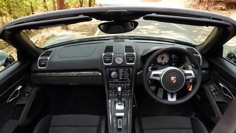 Porsche Boxster 2016 GTS Interior