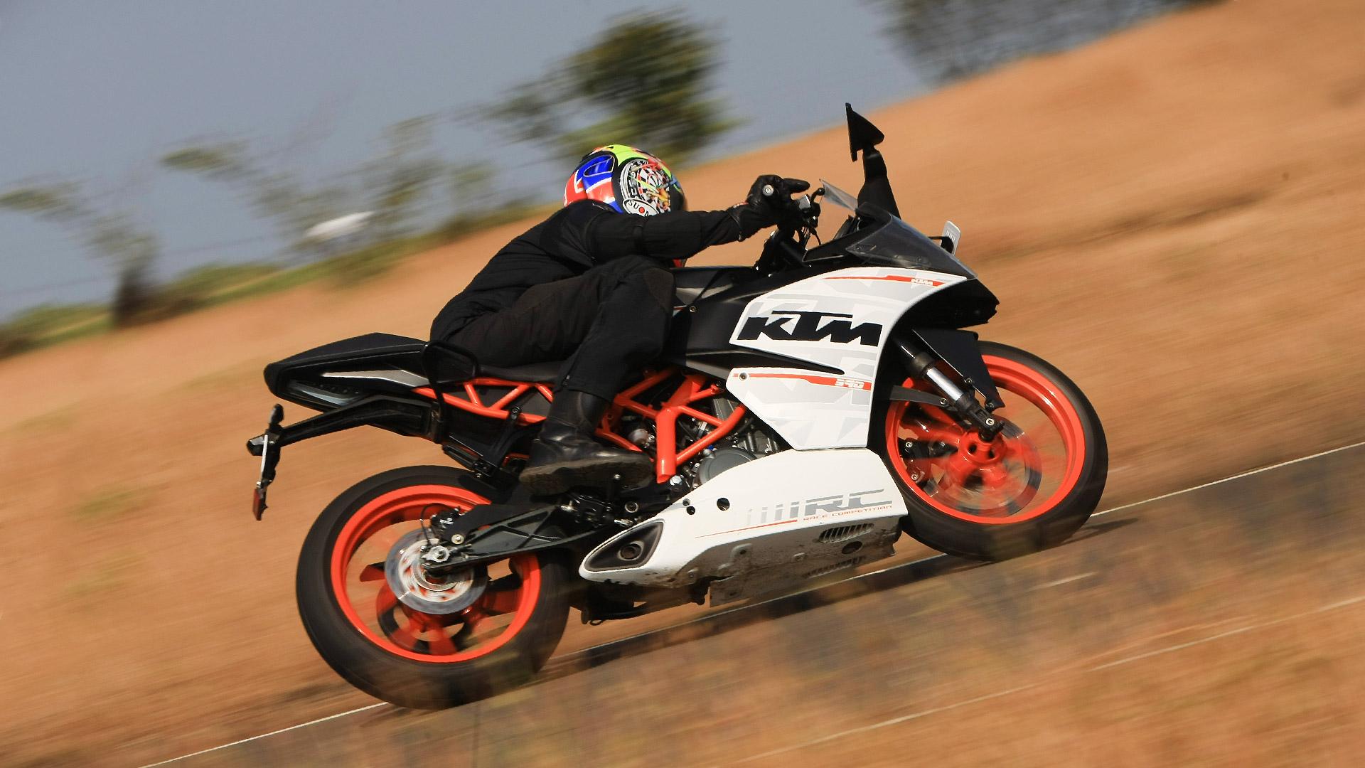 KTM RC 390 2014