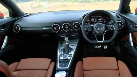 Audi TT 2015 45 TFSI Interior