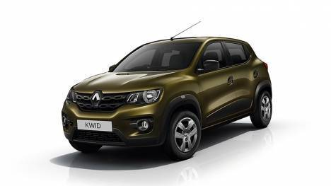 Renault Kwid 2017 Climber AT Comparo