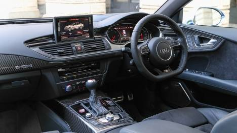 Audi RS 7 2016 STD Interior