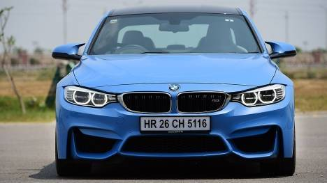 BMW M3 sedan 2015 STD Comparo
