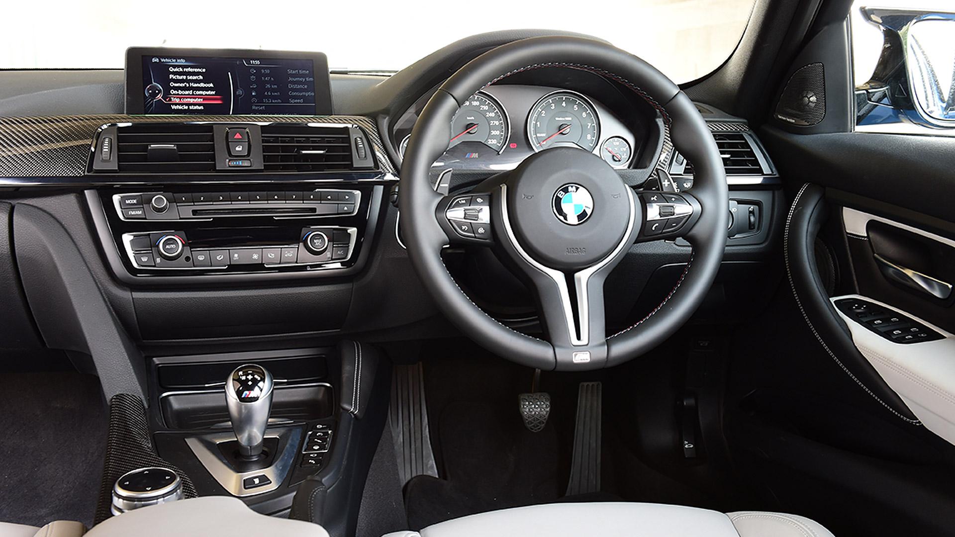 BMW M3 Sedan 2015 STD Interior