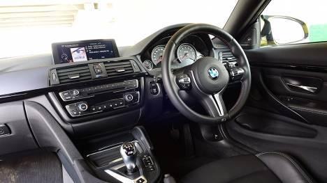 BMW M4 coupe 2015 STD Interior