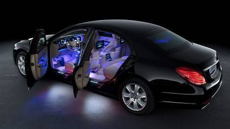 Mercedes-Benz S600 Guard 2015 STD Interior