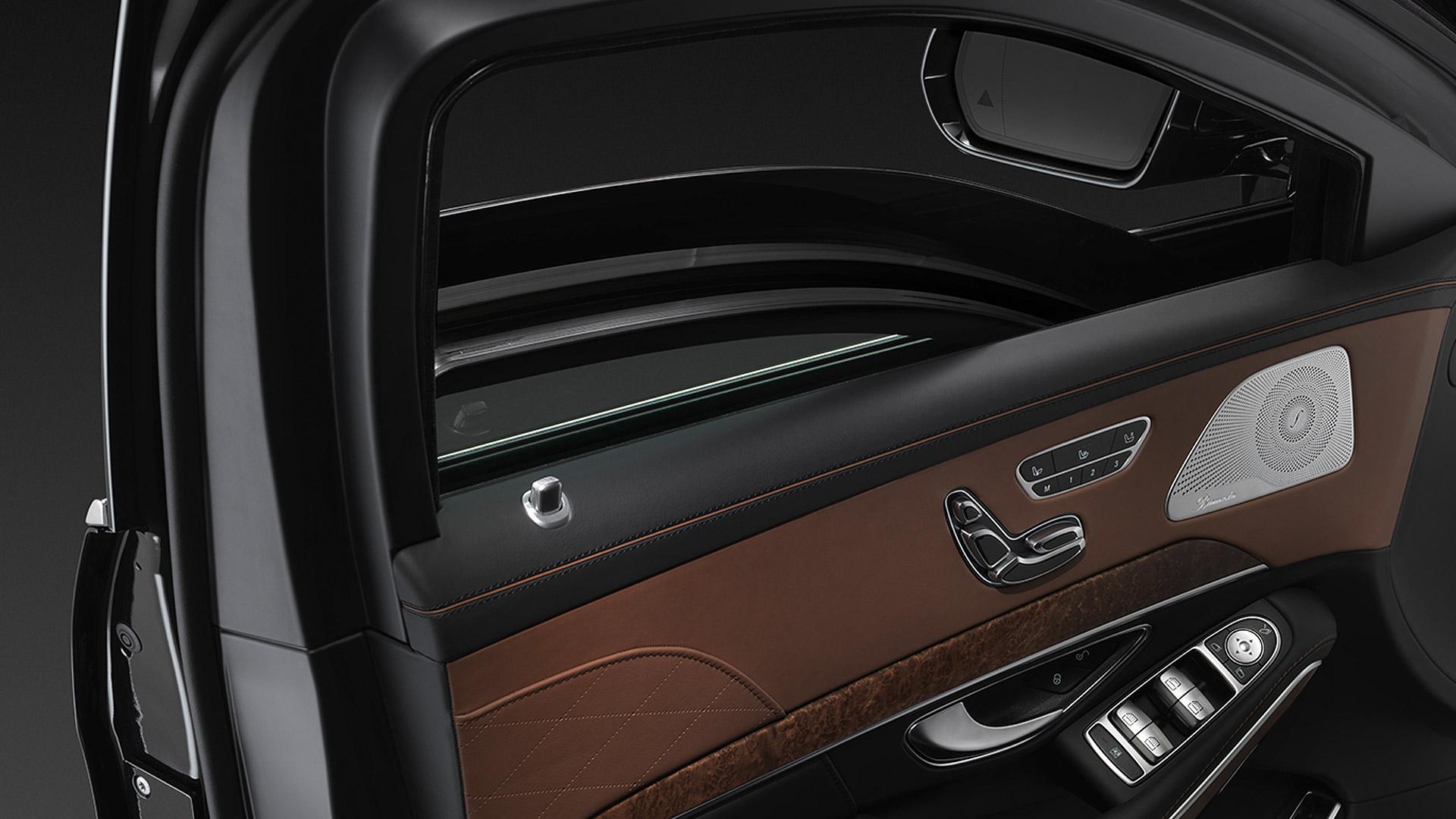 Mercedes Benz S600 guard 2015 STD Interior